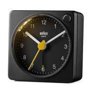 Braun classic travel alarm in black