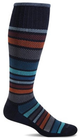 Twillfall graduated compression socks in navy