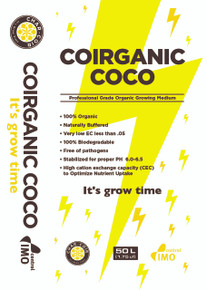 Coirganic Coco is a 100% certified organic growing medium made from coconut pith and fiber. Coirganic Coco received its certification from IMO Control in Sweden, ensuring it is made using the highest standards in the industry.
