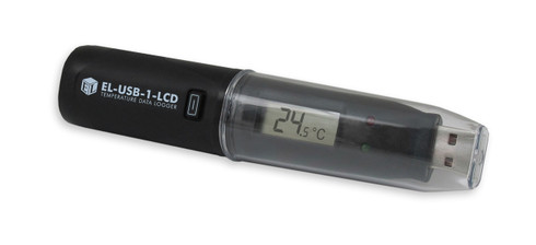 EL-USB-1-LCD, USB Temperature Data Logger, LCD Screen, -35°C to +80°C