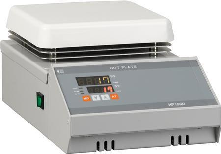Digital Temperature Control Hotplate, Max 380°C, 150x150mm Plate