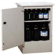 Corrosive Substance Storage Cabinet, Polyethylene, 50 Litres