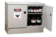 Corrosive Substance Storage Cabinet, Polyethylene, 100 Litres