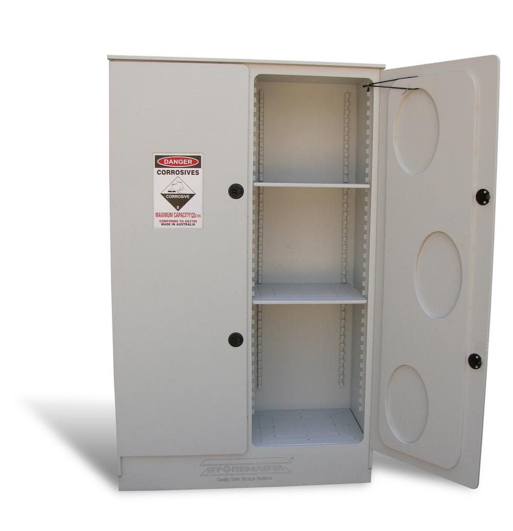 Corrosive Substance Storage Cabinet, Polyethylene, 250 Litres