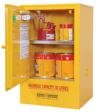 Flammable Liquid Storage Cabinet, Steel, 30 Litres