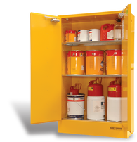 Flammable Liquid Storage Cabinet, Steel, 250 Litres