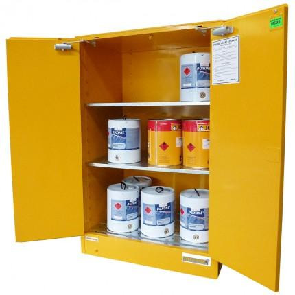 Flammable Liquid Storage Cabinet, Steel, 350 Litres