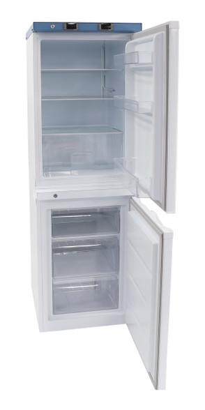 Fridge & Freezer Combo Doors Open