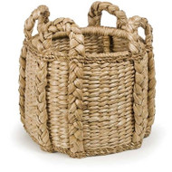 Sweater Weave Kindling Basket - Deguise Interiors Charleston SC