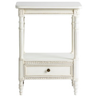 Small Two Shelf Table with Drawer - Deguise Interiors Charleston SC