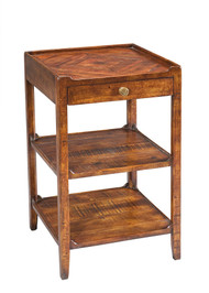Triple Shelf Occasional Table - Deguise Interiors Charleston SC