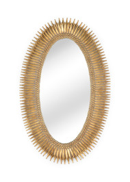 Lucius Mirror - Gold - Deguise Interiors Charleston SC