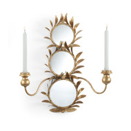 Harting Mirrored Sconce - Deguise Interiors Charleston SC