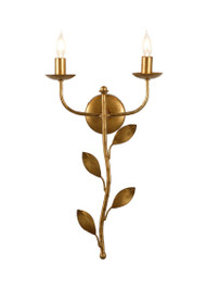 Botanical Leaf Sconce