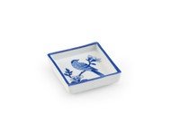 Blue Bird Tray - Square