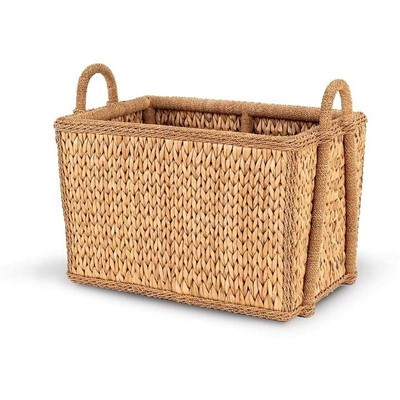 Sweater Weave Mud Room Basket - Deguise Interiors Charleston SC