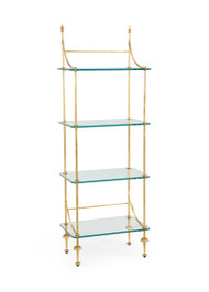 Coleman Etagere - Gold