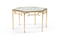 Lorenzo Cocktail Table - Gold
