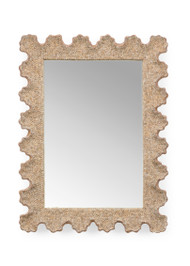 Scalloped Shell Mirror