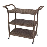 Sausalito Rectangular Bar Cart - Deguise Interiors Charleston SC