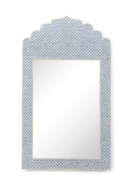 Crown Mirror - Blue