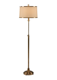 Adjustable Floor Lamp w/ Tan Shade