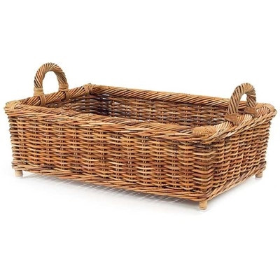 French Country Loft Basket - Deguise Interiors Charleston SC