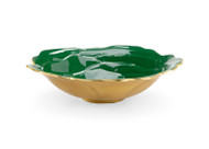 Green Enameled Bowl - Large