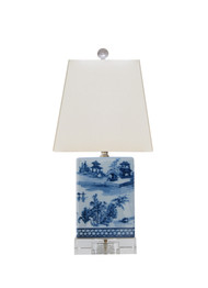 Chinoiserie Bookshelf Lamp