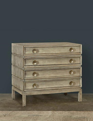Ceruse 3 Draw Italian Chest - Deguise Interiors Charleston SC