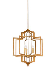 Dover Chandelier - Gold - Deguise Interiors Charleston SC