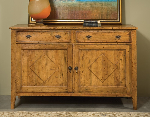Transitional French Cabinet - Deguise Interiors Charleston SC