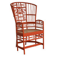 Indochine High Back Chair - Deguise Interiors Charleston SC