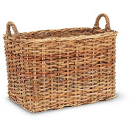 French Country Mud Room Basket - Deguise Interiors Charleston SC