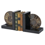 Fossil Bookends - Deguise Interiors Charleston SC