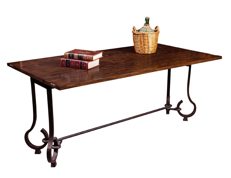 Excellent Oak And Iron Flip Top Table Gmtry Best Dining Table And Chair Ideas Images Gmtryco