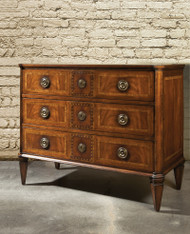 Italian Mahogany Chest - Deguise Interiors Charleston SC