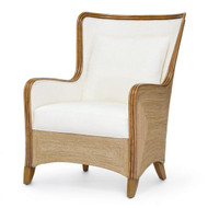 Kingston Wing Chair - Deguise Interiors Charleston SC