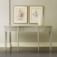 Ribbed Drawer Console - Deguise Interiors Charleston SC