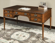 English Mahogany Desk - Deguise Interiors Charleston SC