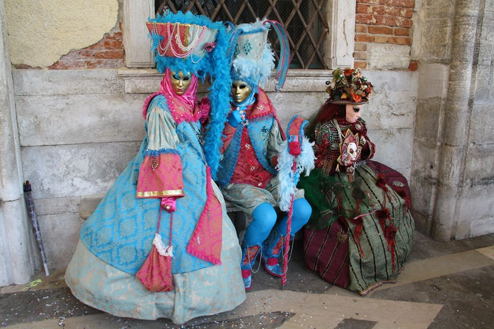 Venice Carnival Blog, By Sylvia T Ceotto