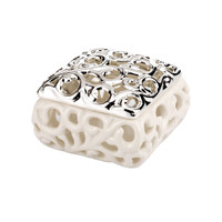 Porcelain and Silver Favor Boxes