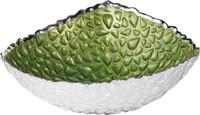 Goccia Glass & Silver Bowl