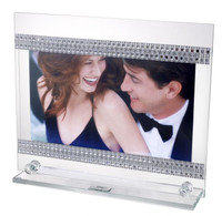 Tabletop Photo Frame w. Swarovski