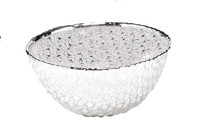 Diamante Glass Small Bowl
