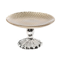 Glass Footed PLATE