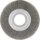 "3"" x .012"" x 1/2"" Crimped Wire Wheel Brush (Steel) 