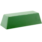 Green Stainless Steel Rouge Buffing Wheel Compound Bar   Formax 515-106