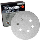 "6"" 6 Hole Rhynogrip Hook & Loop Discs (Box of 50) | 60 Grit AO | Indasa 62-60"