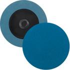 "2"" Quick Change Sanding Disc (Box Qty: 100) | Type R | 80 Grit Zirconia | LVA RD20ZA-80"